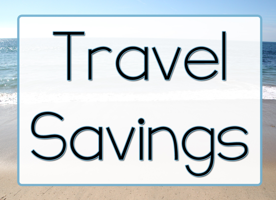 Save money on travel