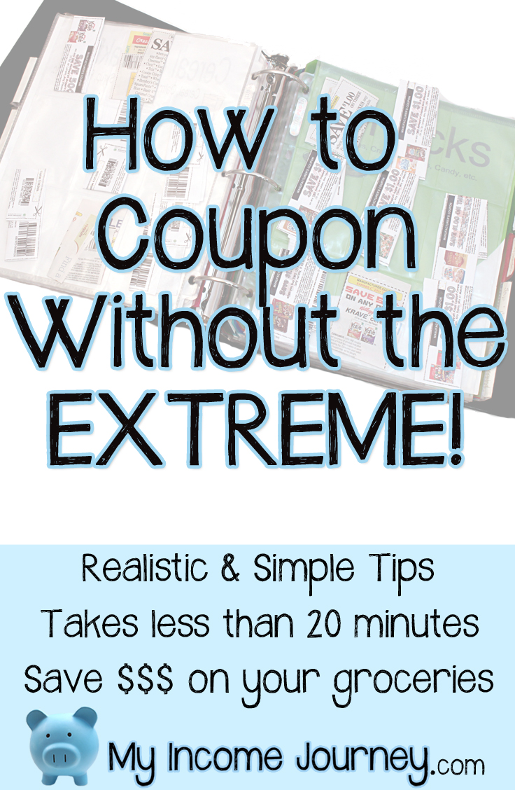 How To Coupon Without The Extreme