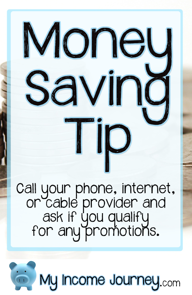 Money Saving Tip – Call Your Providers