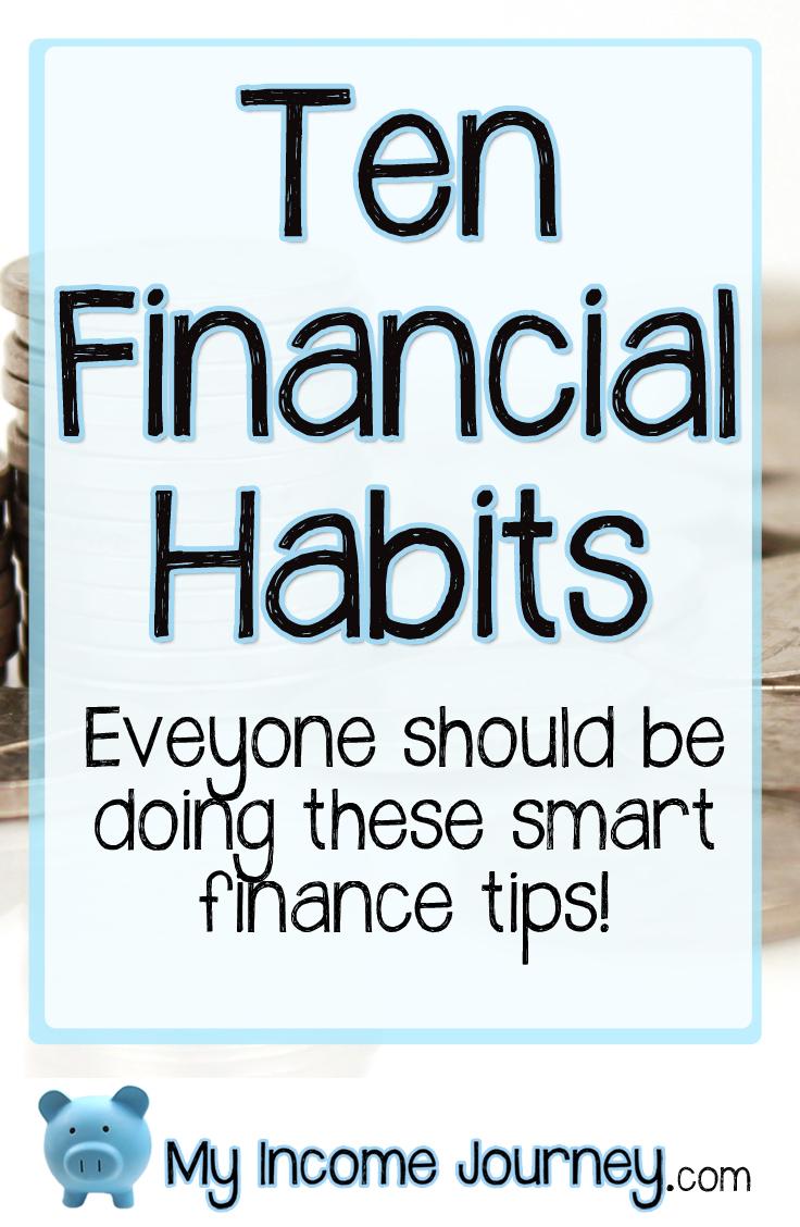 10 Financial Habits Everyone Should Be Doing