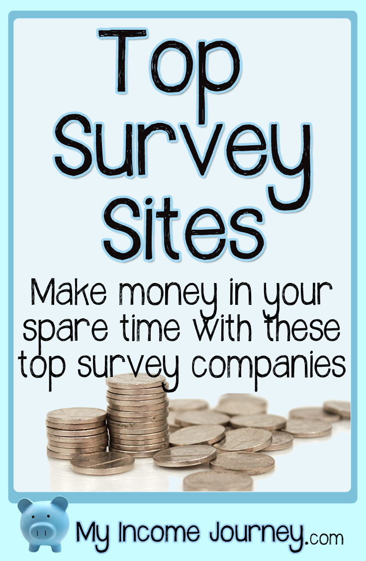 Top Survey Sites to Make Money | My Income Journey