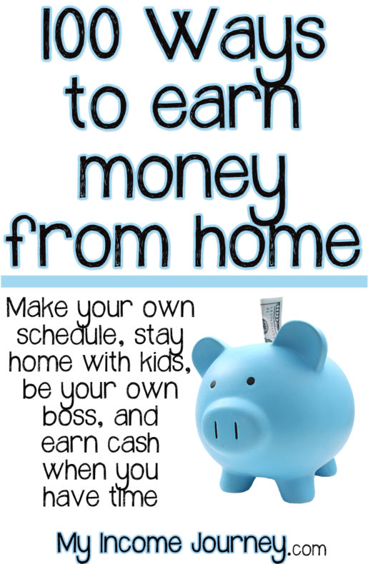 100 ways to earn money from home my income journey for Stay at home craft jobs