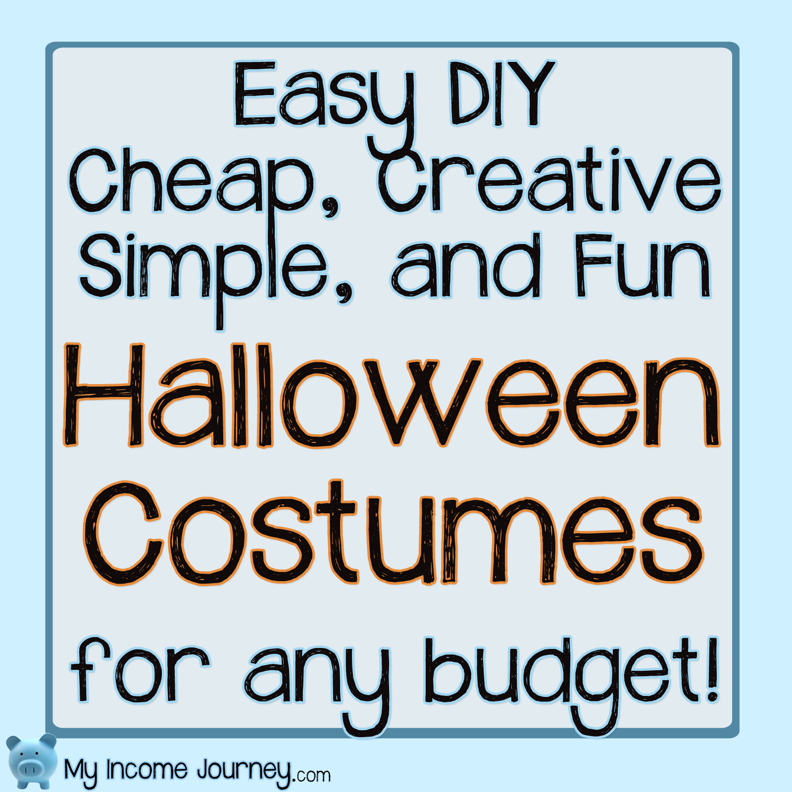 Favorite Cheap Halloween Costumes!