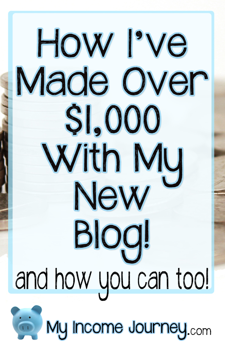 Howimadeover1000withmynewblog Youcantoo
