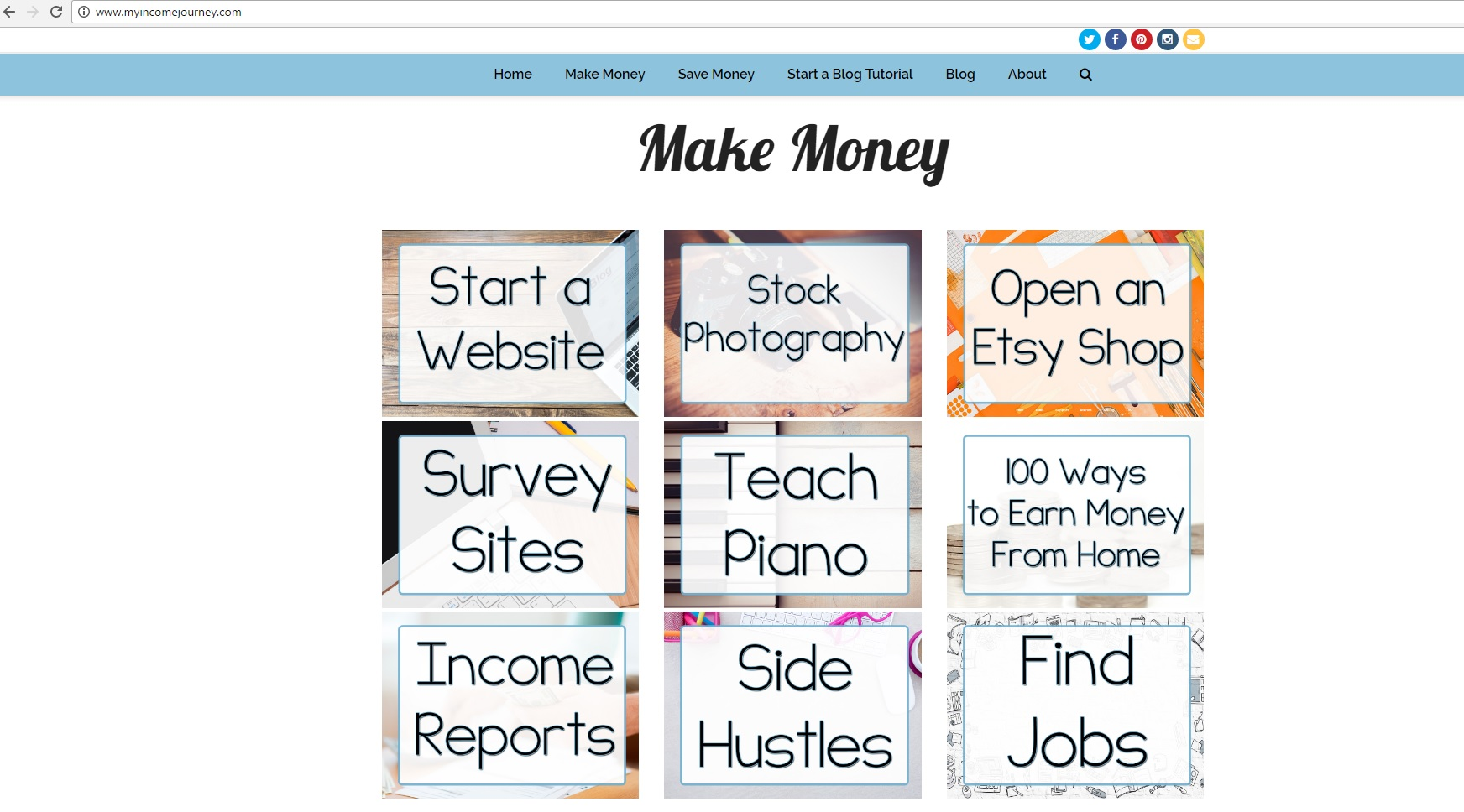 My Income Journey's New Look