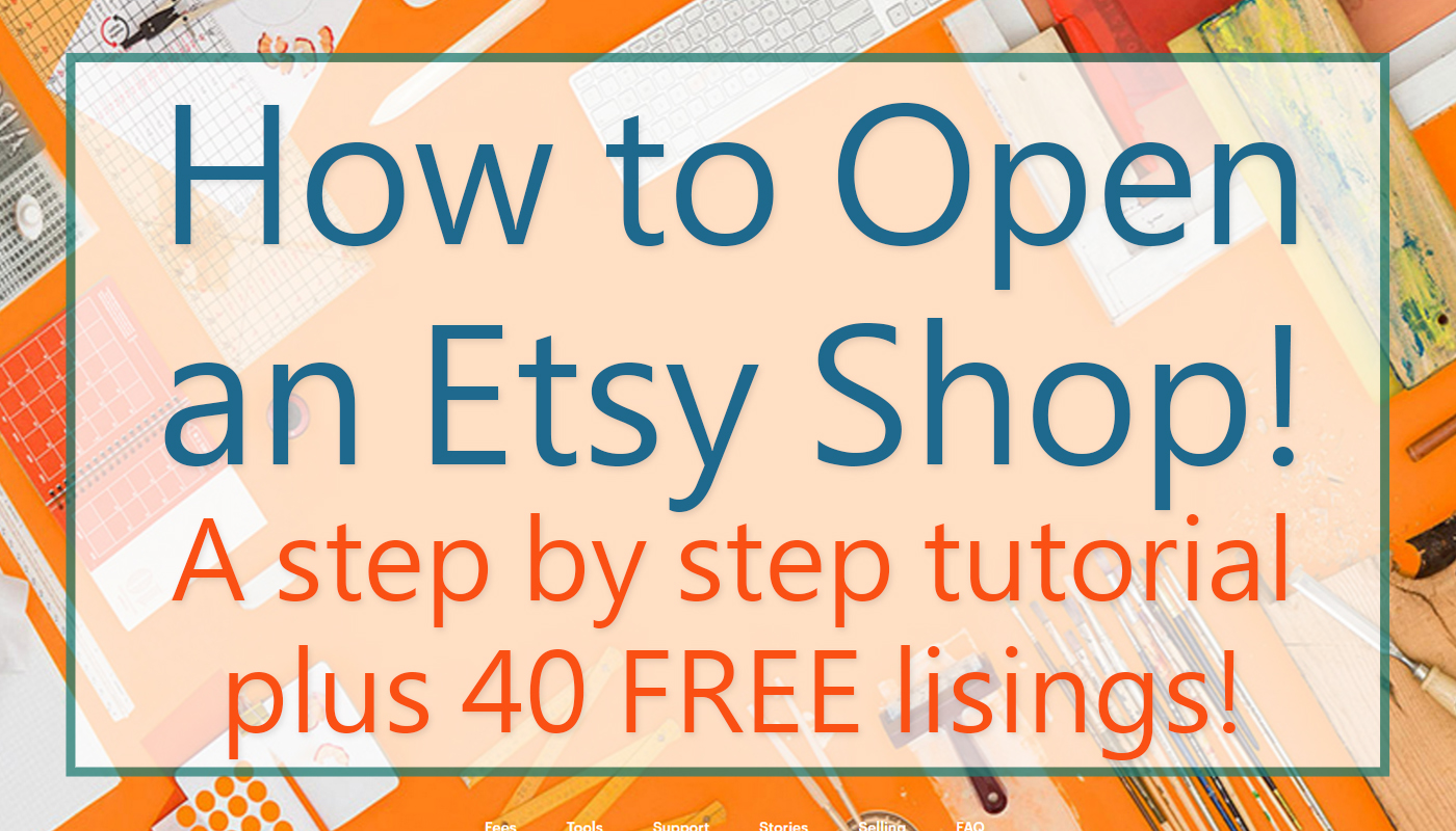 How To Open An Etsy Shop My Income Journey