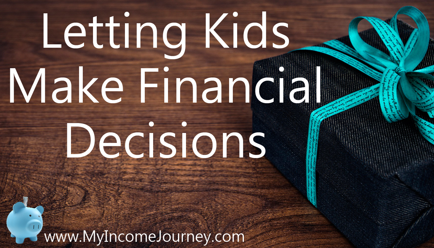 Letting Kids Make Financial Decisions – My Son and His Birthday Finances