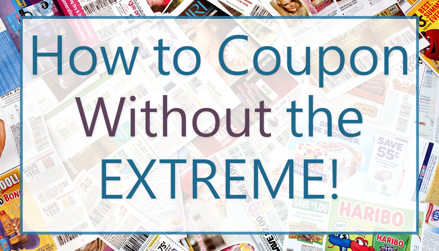 How To Coupon Without The Extreme Post